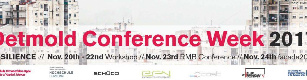 Detmold Conference Week 2017