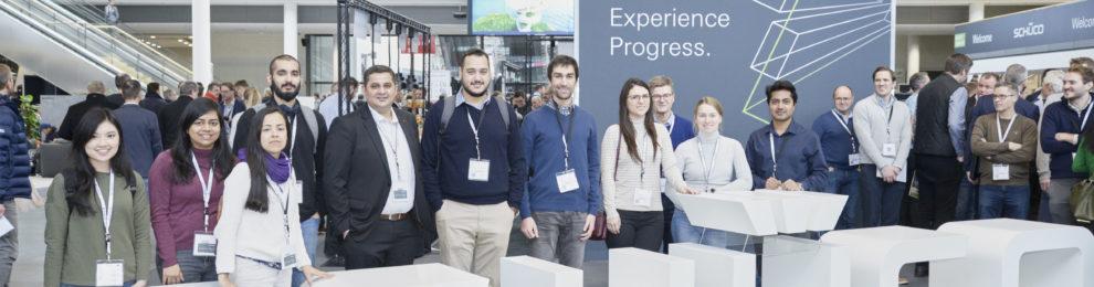 MID students at BAU Munich 2019