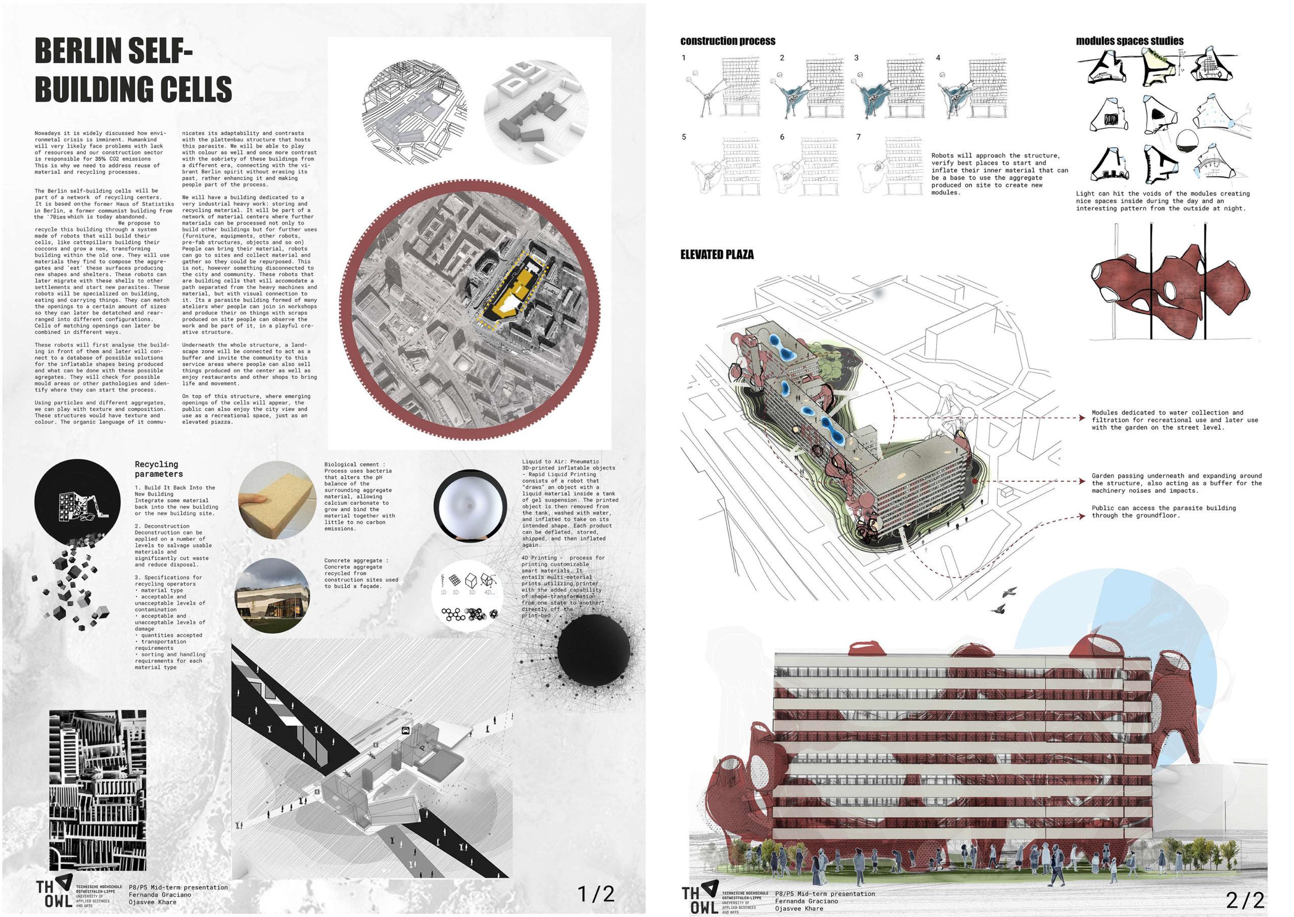 Berlin Self-Building Cells (Fernanda Graciano, Ojasvee Khare)