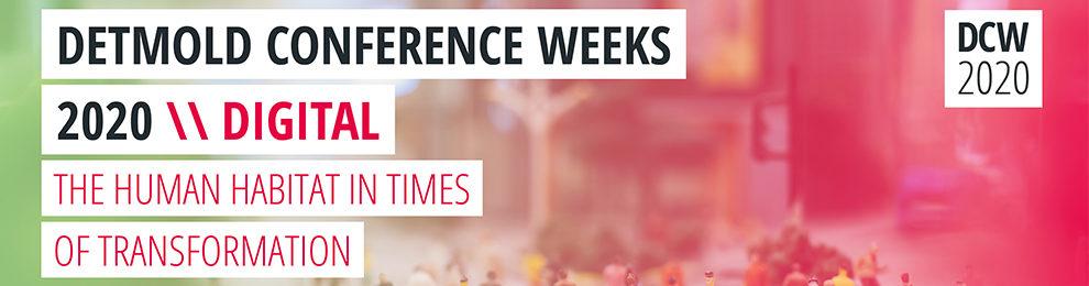 Detmold Conference Weeks 2020 // DIGITAL