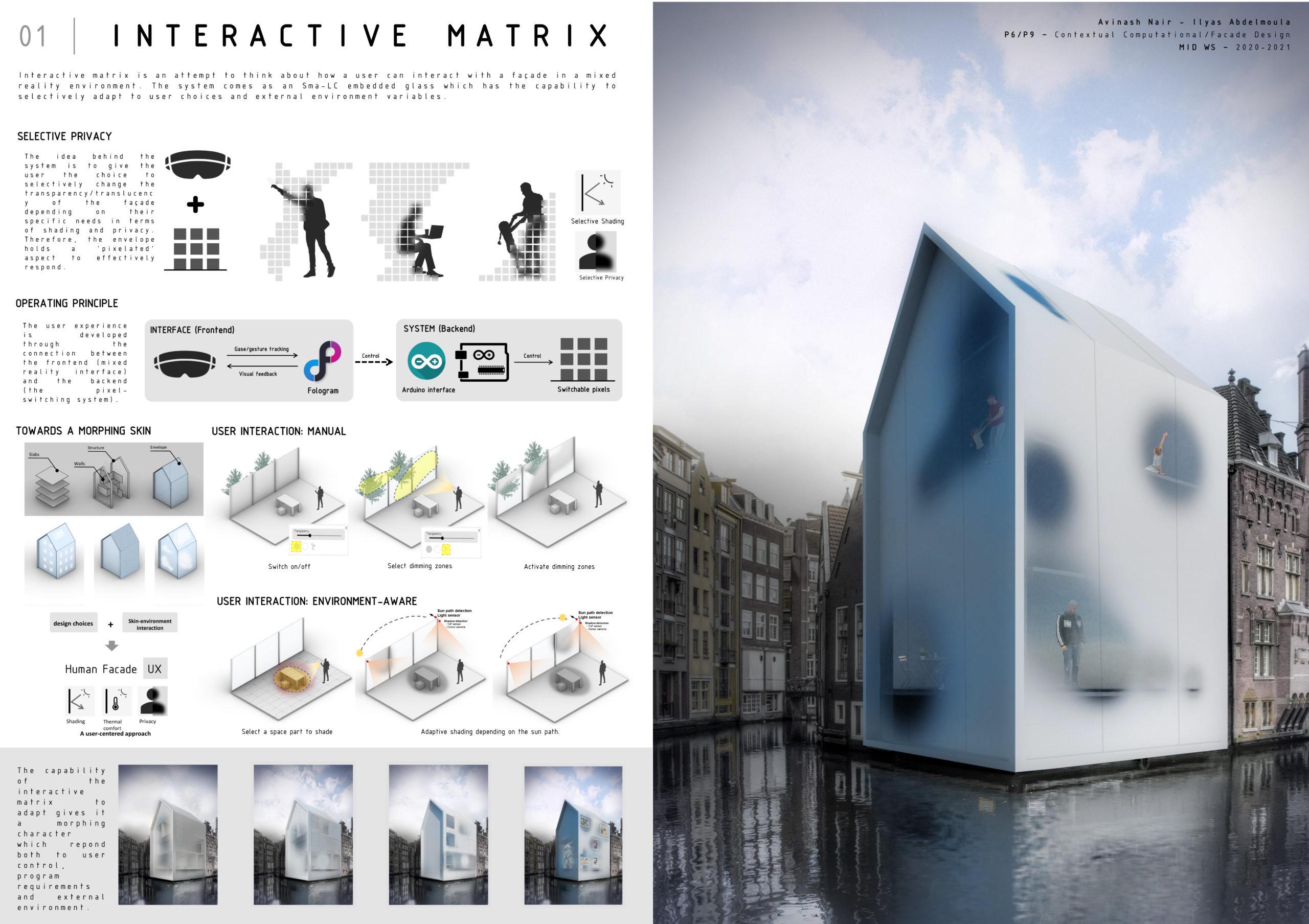 Interactive Matrix // Avinash Nair – Ilyas Abdelmoula